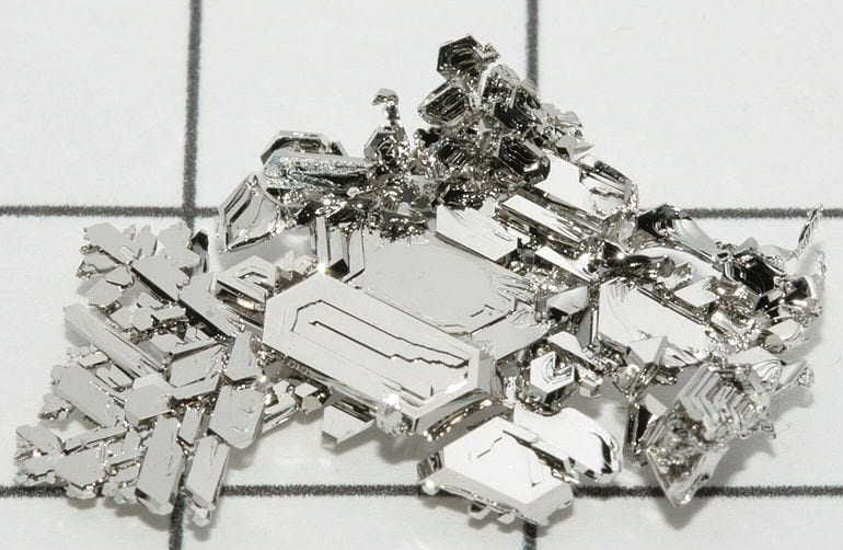 Pure Platinum Crystals