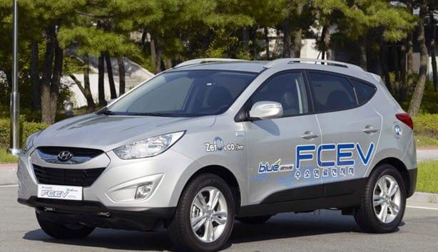 Hyundai Tucson ix FCEV Hydrogen Fuel Cell Car