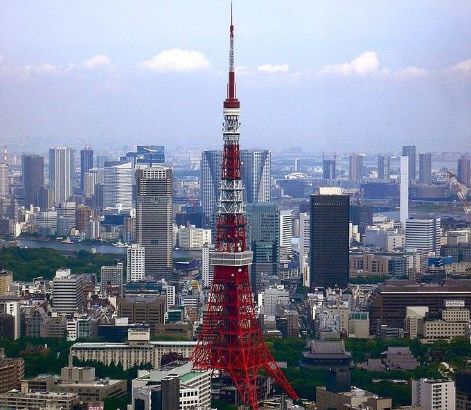 Tokyo Tower Green Power