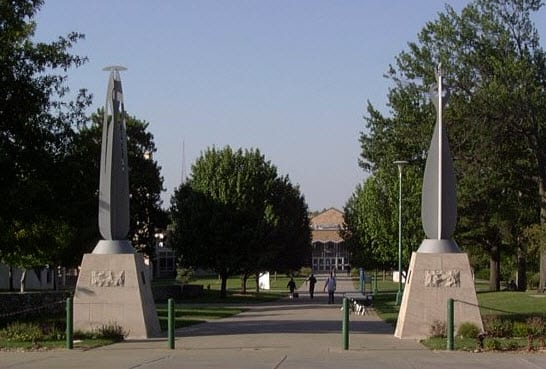 University of Missouri-Kansas Main Campus Entry