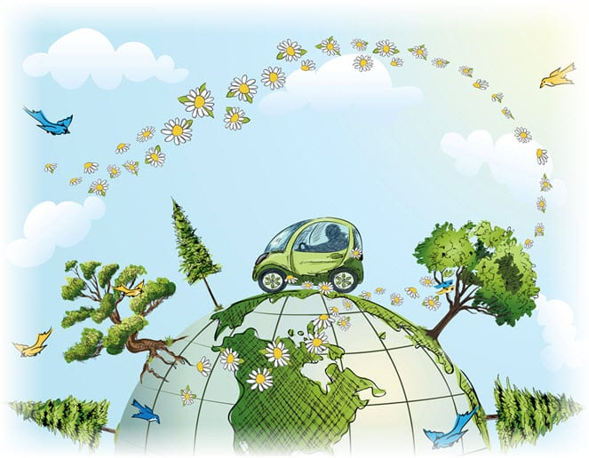 Electric Vehicles & Hybrids - Renewable Energy