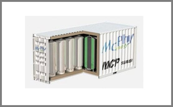 McPhy Energy Storage Tank for Hydrogen
