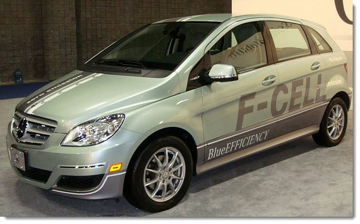hydrogen fuel vehicle - Mercedes-Benz B-Class F-Cell