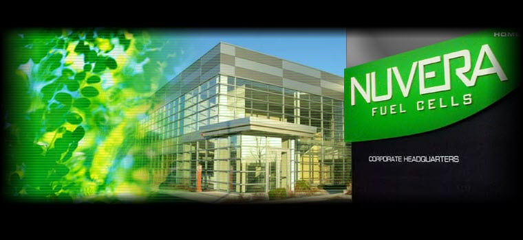 Nuvera Fuel Cells Inc. Web Site