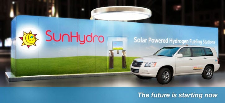 SunHydro Hydrogen Fueling Stations