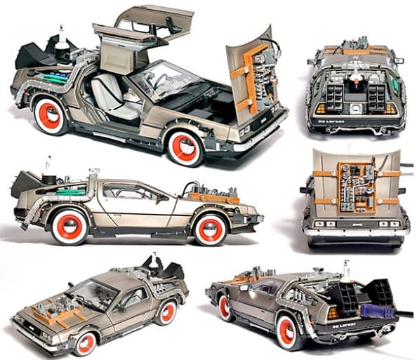 Delorean Back to The Future Model
