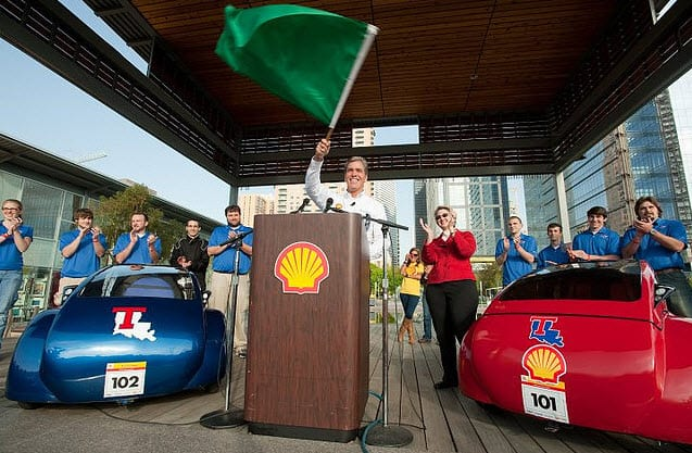 Hydrogen fuels the Shell Eco-marathon Americas 2011
