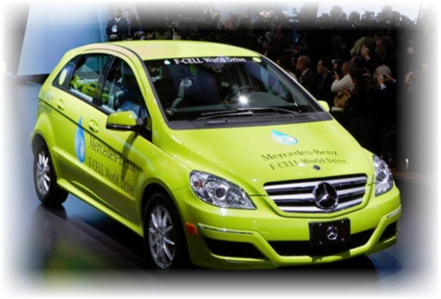 Merceds Benz - Hydrogen Fuel Vehicles