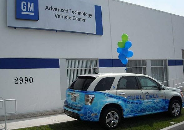 GM reaches milestone with fleet of hydrogen fuel vehicles
