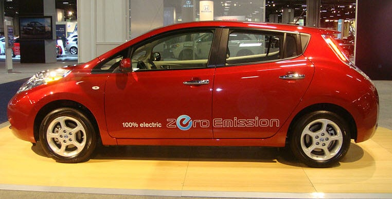 2011 Nissan Leaf Electric Car electric vehicle