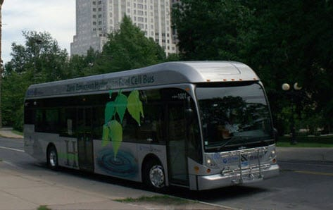 Hydrogen Fuel Powered Bus