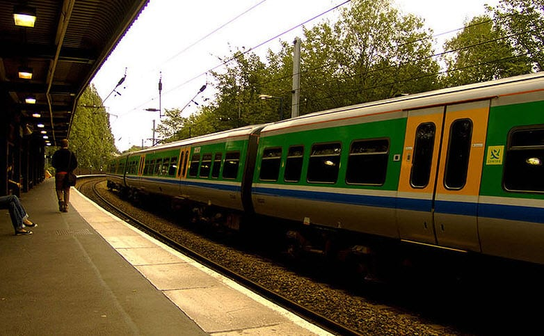 University's own Railway Station - Only Campus in Britain to have their own train