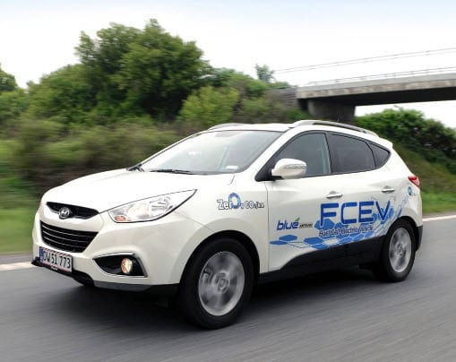 Hydrogen Fuel Cell Vehicle - Hyundai ix35 FCEV