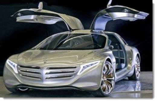 Mercedes Hydrogen Concept Car