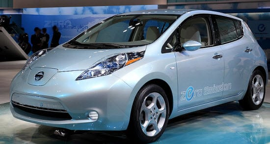 Nissan Leaf Battery Electric Car