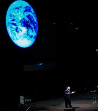 Al Gore Speaking on Global Warming