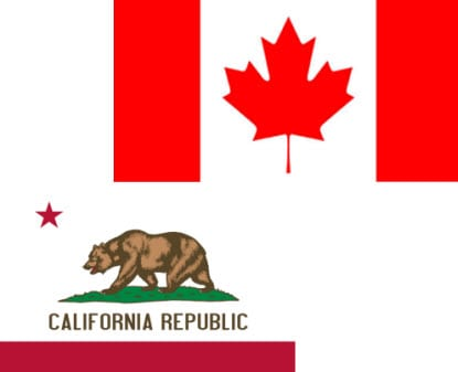 Canadian government launches new alternative energy initiative in California