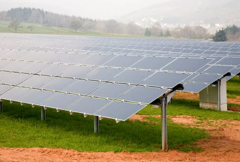 Alternative energy companies convert UK mine into a solar power farm