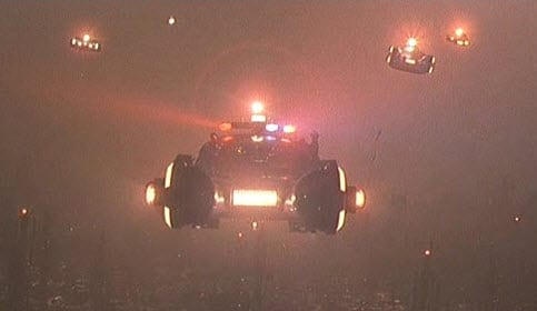 Blade Runner Flying Car