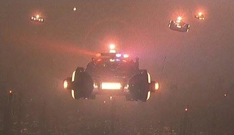 Blade Runner Flying Car