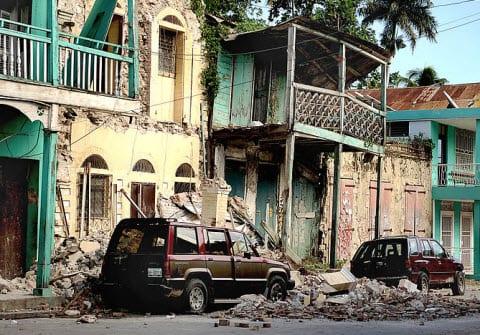 Damage from Haiti Earthquake 2010