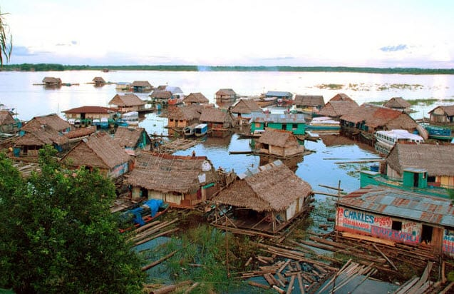 Amazon Floating Village