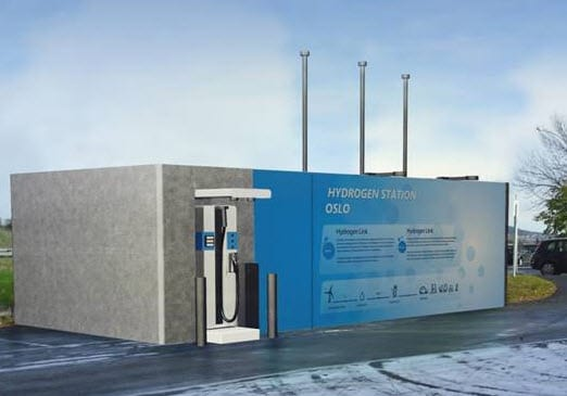 Norway's third hydrogen station finds a home in Oslo