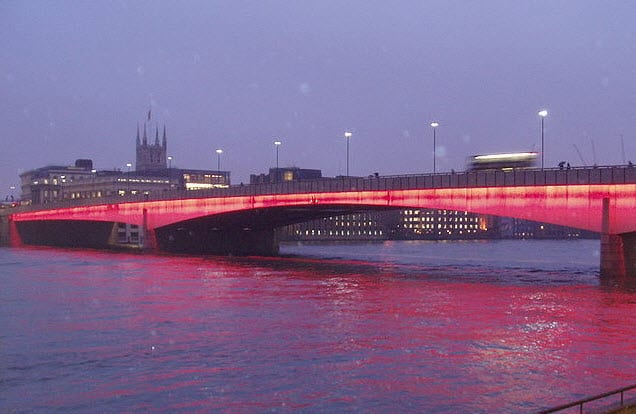 London Bridge to receive lighting update from GE and EDF Energy