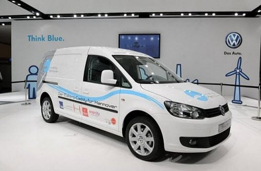 Volkswagen to test battery power for new electric Caddy