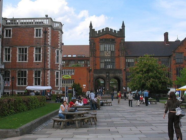 Newcastle University in the United Kingdom