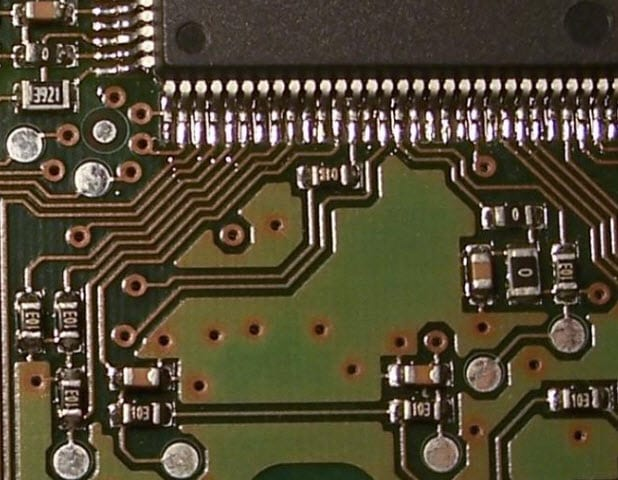 Example of Printed circuit board