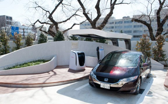 Honda opens new solar-hydrogen fuel station in Saitama, Japan