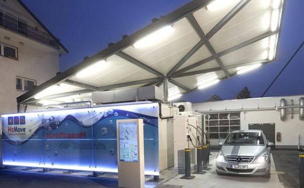 Hydrogen Fuel Refueling Station Freiburg Germany