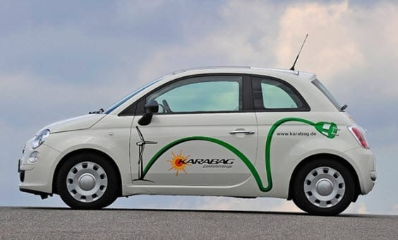 Karabag Electric car