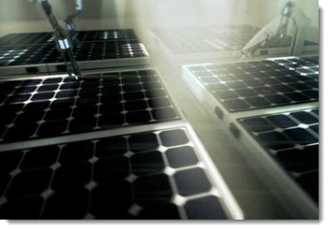 Solar energy firm unveils new solar panels comprised of black silicon