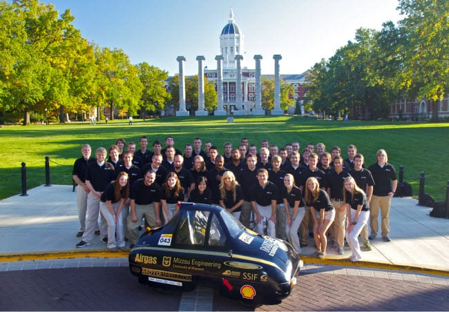 Mizzou Hydrogen Car Team prepares for competition in the Shell Eco-Marathon