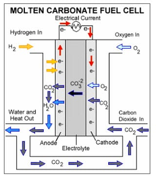 Molten carbonate fuel cells becoming more popular options in the world of industry