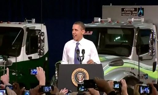 President Obama announces new plan to promote hydrogen-powered vehicles