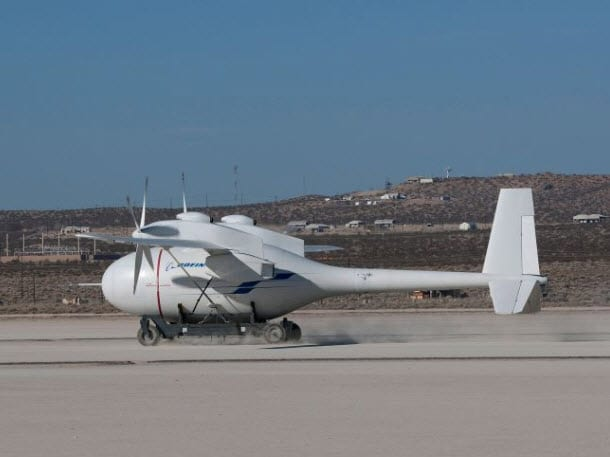 Boeing announces successful taxi of hydrogen-powered unmanned aircraft