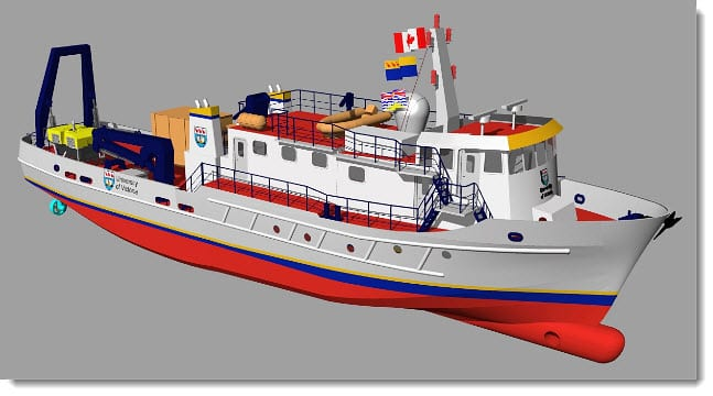 University of Victoria to repurpose old ship as an environmentally friendly research vessel
