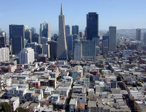 San Francisco named as North America's Cleantech Capital by the Cleantech Group