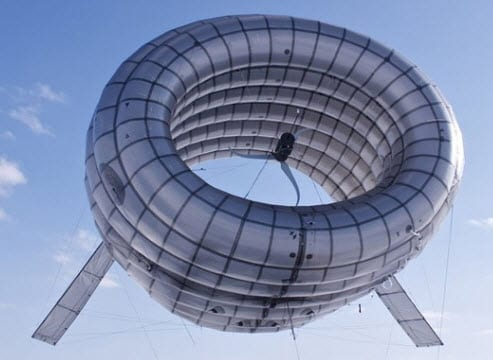 Altaeros Energies builds donut-shaped wind turbine to harvest energy at high altitudes