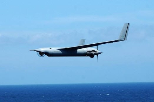 hydrogen powered UAV ScanEagle