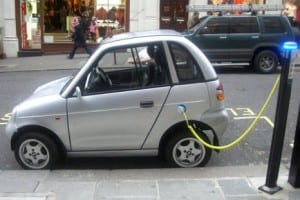 Electric Vehicles - electric car charging