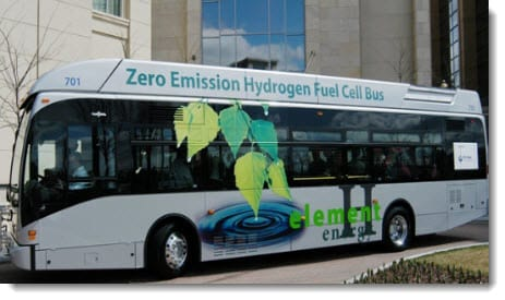 Hydrogen fuel makes progress in California public transit