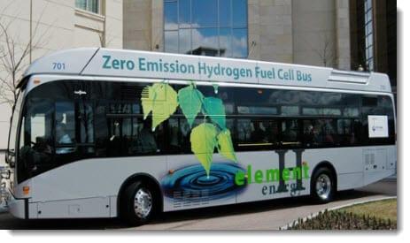 Hydrogen fuel makes progress in California public transit
