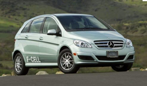 Hydrogen Powered Car - Mercedes FCell