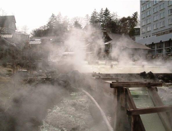 Kusatsu Onsen Japan Georthermal Energy