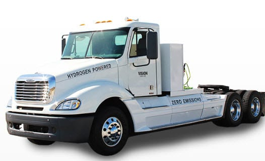Tyrano hydrogen fuel cell truck