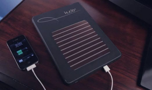 Wireless NRG powers iPad with solar energy